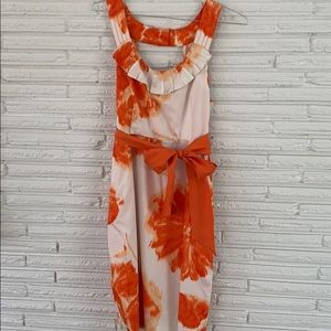 Anthropologie spring dress size 12